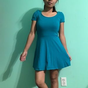Small Teal Dress